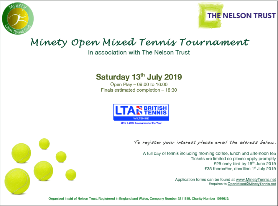 Mintey Tennis Tournement